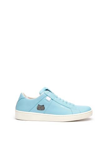 Royal Elastics 藍色 Icon Catwalk 真皮休閒鞋 E6B26SH52CBA6FGS_1