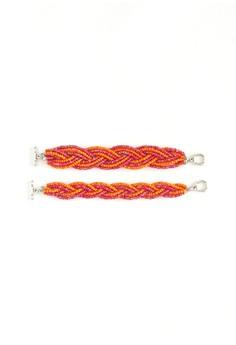Braided Beads Bracelet Set C