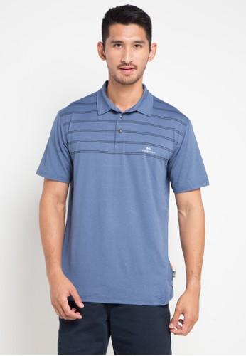 Quiksilver blue River Explorer Polo Shirt 73586AAB49EAF3GS_1