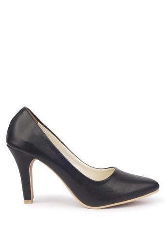 CLAYMORE black Sepatu High Heels BB-701  Black CL635SH26LIVID_1