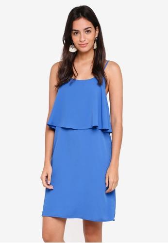 Pieces blue Sophia Slip Dress 201CDAA565D182GS_1