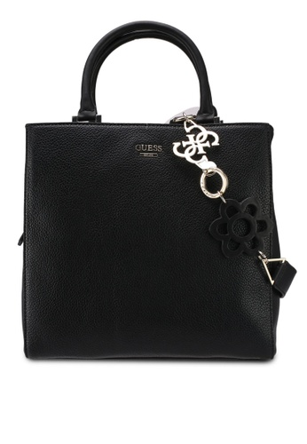 Guess black Dania Girlfriend Shopper Bag 9193BAC950FC34GS_1