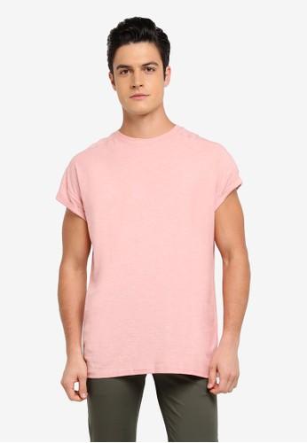 Factorie pink The Cap Tee B81C5AAC52A5F8GS_1