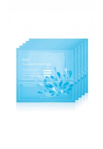belif blue Aqua Bomb Sheet Mask BE496BE92BNZMY_1