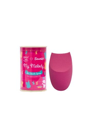Happy Skin pink Sanrio Air Touch Sponge 3-Way Makeup Blending Tool HA428BE0J5R1PH_1