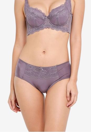 XIXILI purple Rufina Boyleg Panty C57AAUS444F8CFGS_1