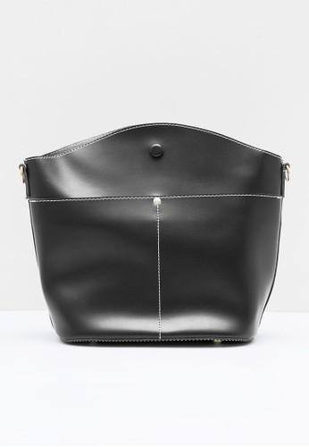 Berrybenka Label black Finn Decca Shoulder Bags black 80634ACB24673FGS_1