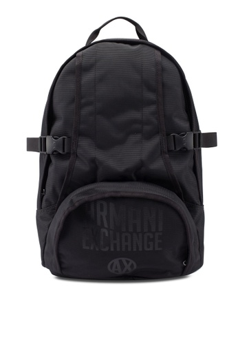 16d56a6e4e3 Buy Armani Exchange Urban Logo Backpack Online on ZALORA Singapore