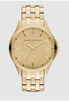 fb585808eff Armani Exchange gold Hampton Gold-Tone Watch AX2167 2E5A5AC1F215B9GS 1
