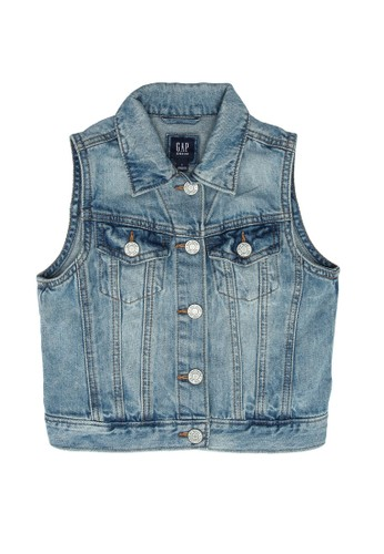 GAP blue Denim Vest 94536KA6860A2FGS_1