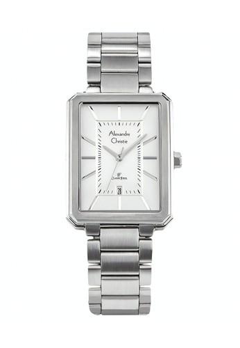 Alexandre Christie silver Alexandre Christie Jam Tangan Pria - Silver - Stainless Steel - 8555 MDBSSSL 6DDD0AC0C8AA11GS_1