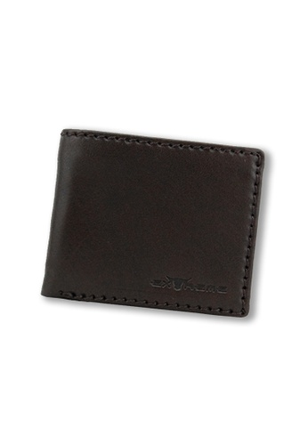 EXTREME brown Extreme Genuine Leather Bifold Wallet Multi Slot Dark Brown D5B3BAC3914122GS_1