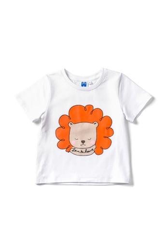 Vauva white Vauva Hauska Boys Little Lion Tee - White 2C62BKAB54F99DGS_1