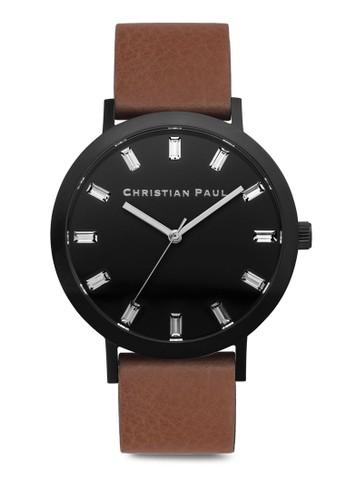 Briesprit門市地址dport 奢華風格紋手錶, 錶類, 皮革錶帶