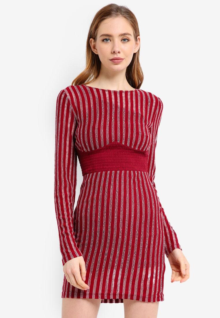 3db7ca61de50 Ember Dress Mini Stripe Finders Knit Descent Keepers qXzE5T ...