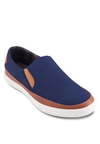 撞色懶人較低休閒鞋, esprit地址鞋, 鞋