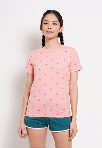Fave pink Short Sleeve Graphic Tee 0D1E9AA7C2713AGS_1