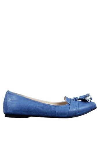 Beauty Shoes blue Saviola Beauty Flat Blue BE516SH72WCHID_1