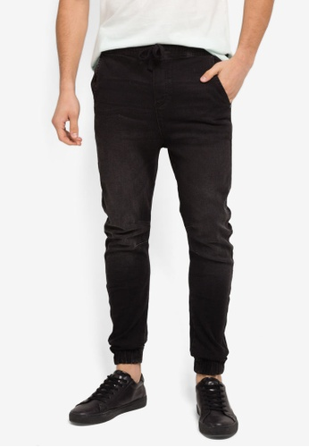 Factorie black The Denim Jogger Jeans FA880AA0SKMTMY_1