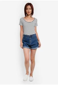 10% OFF ZALORA Mom Fit Shorts HK$ 199.00 NOW HK$ 178.90 Sizes XS S M L XL