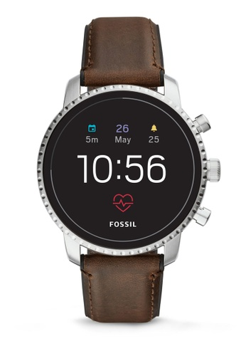 Fossil brown Explorist Smartwatch FTW4015 7E3D8ACF3EE42AGS_1
