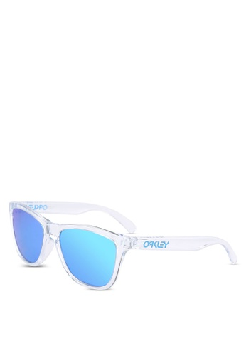 Oakley white Performance Lifestyle OO9245 Sunglasses OA636GL0RTN0MY_1