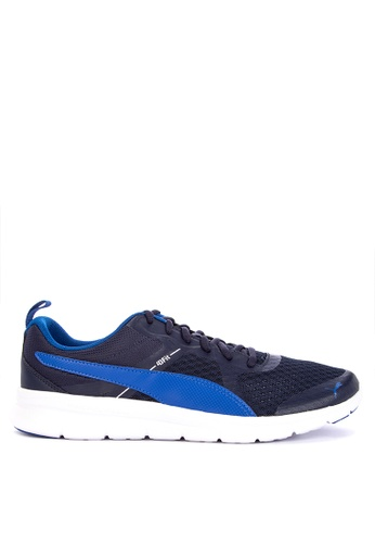 Puma blue Flexracer V2 Training Shoes 9AB44SHBD62E0DGS_1