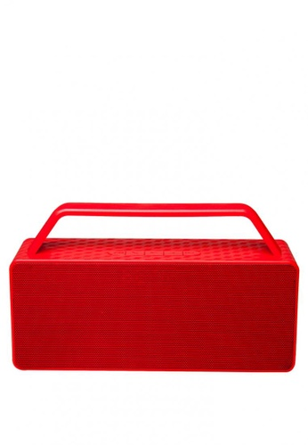 Stylebox red JC-186 Portable Bluetooth Stereo Speaker with Handle 7113DACE9E1E02GS_1