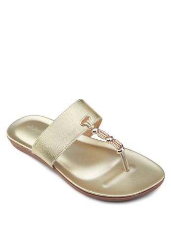 閃飾夾腳涼鞋, 女esprit 台中鞋, 鞋