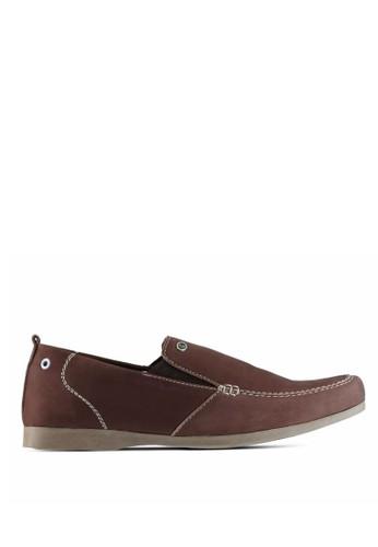 Sogno brown Sepatu Slip On Pria GF.7003 D8084SH80728D6GS_1
