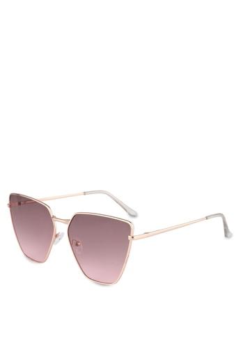 ALDO pink Agrerasen Sunglasses/Square 9C8FEGL32DB84AGS_1