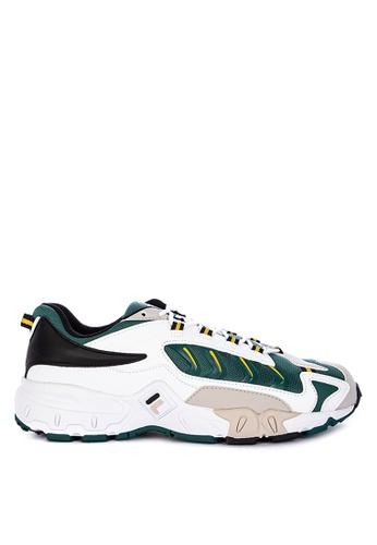 Fila white Ravagement 2000 Sneakers B6C4DSHE2458D8GS_1