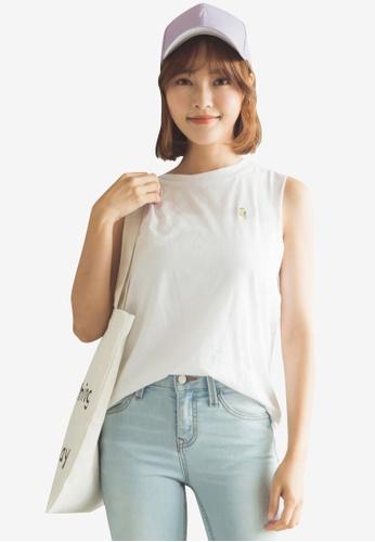 Tokichoi white Vest Top 85C57AAF11DFFDGS_1