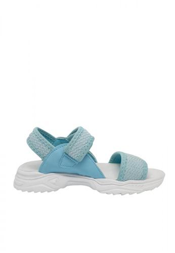 Step One blue Girls' Dominic Sandals 76B9AKSAC1A6A2GS_1