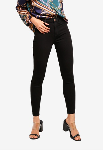 River Island black Molly Reform Jeggings 694B0AA97DCA01GS_1