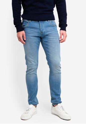 OVS 藍色 緊身牛仔褲 41D30AA4A074A1GS_1