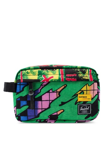 Herschel multi Chapter Travel Pouch (Hoffman Collection) C7221AC54417C8GS_1