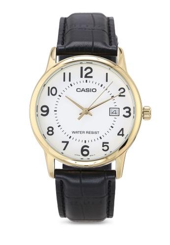 Casio black Casio MTP-V002GL-7BUDF Watch 180FEAC620B605GS_1