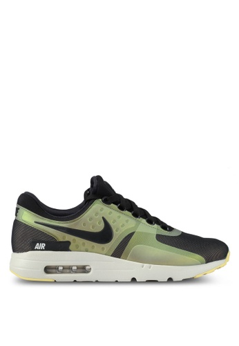 Nike black and white and beige Men's Nike Air Max Zero SE Shoes NI126SH0SFBFMY_1