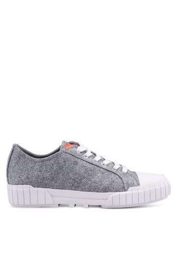 Calvin Klein grey Beato Sneakers 9BC6DSHFA0F7A7GS_1