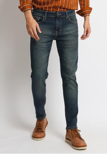 VENGOZ blue Skinny Jeans Indigo Wash F7794AAE7A2E32GS_1