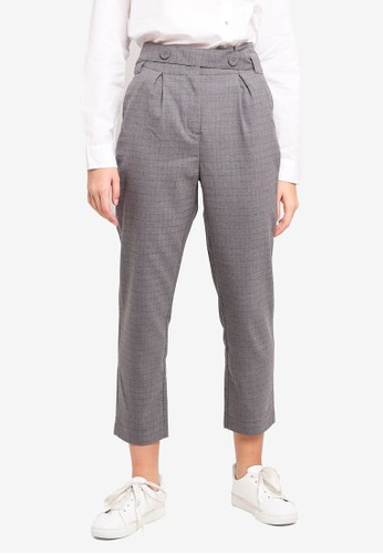 ESPRIT grey Woven Length Service Pants DDF4FAA0DB806CGS_1