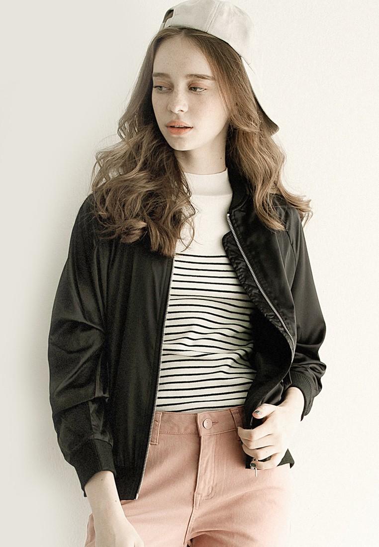 Pretty Woman Hip Bomber Jacket