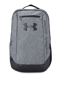 ba3645a6e44a5 Under Armour grey UA Hustle LWDR Backpack UN337AC77VFAMY 1