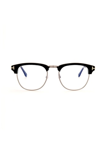 3522ce56a4a Tom Ford black TOM FORD FT0248 001 Eyeglasses 3D04AGL67B88FAGS 1
