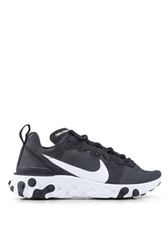 competitive price 09c4f a4df3 Nike black Nike React Element 55 Shoes 00205SHA26F2ADGS_1
