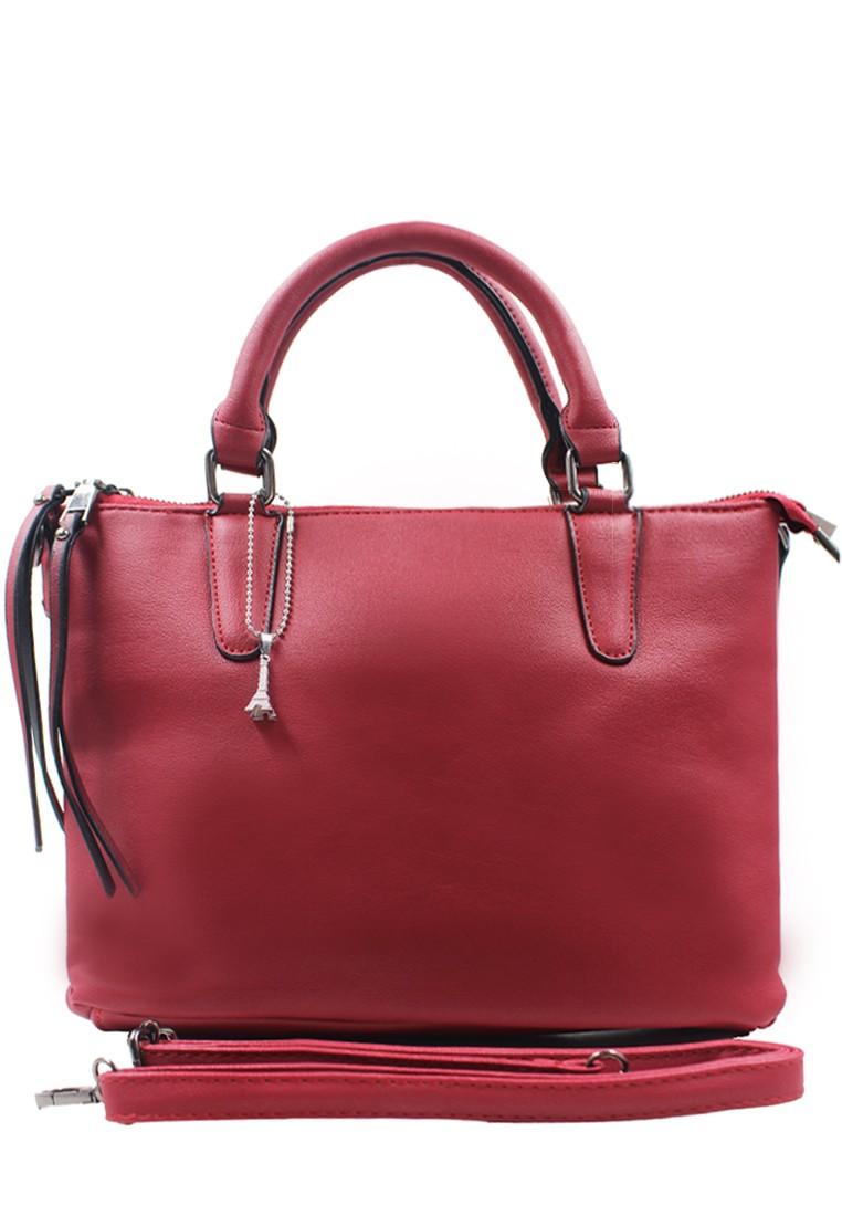 Lara Shoulder Bag (Red)