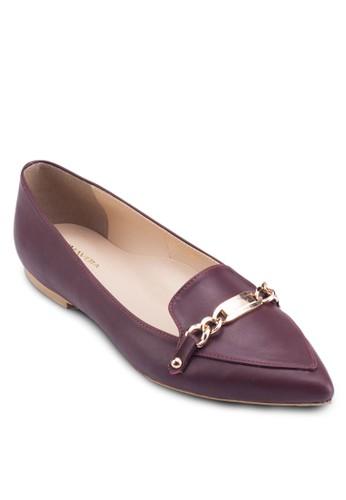 Verda 尖頭平底鞋, 女鞋esprit hk, 鞋