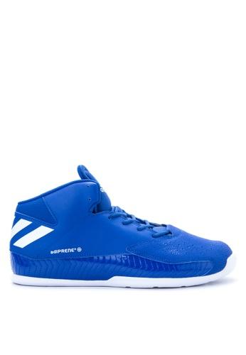 Adidas white and blue adidas nxt lvl spd v basketball AD678SH23FLOPH_1