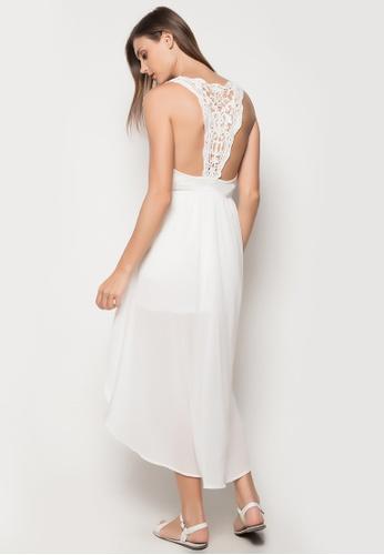 Sassa white Racerback Dress SA329US81WYSPH_1